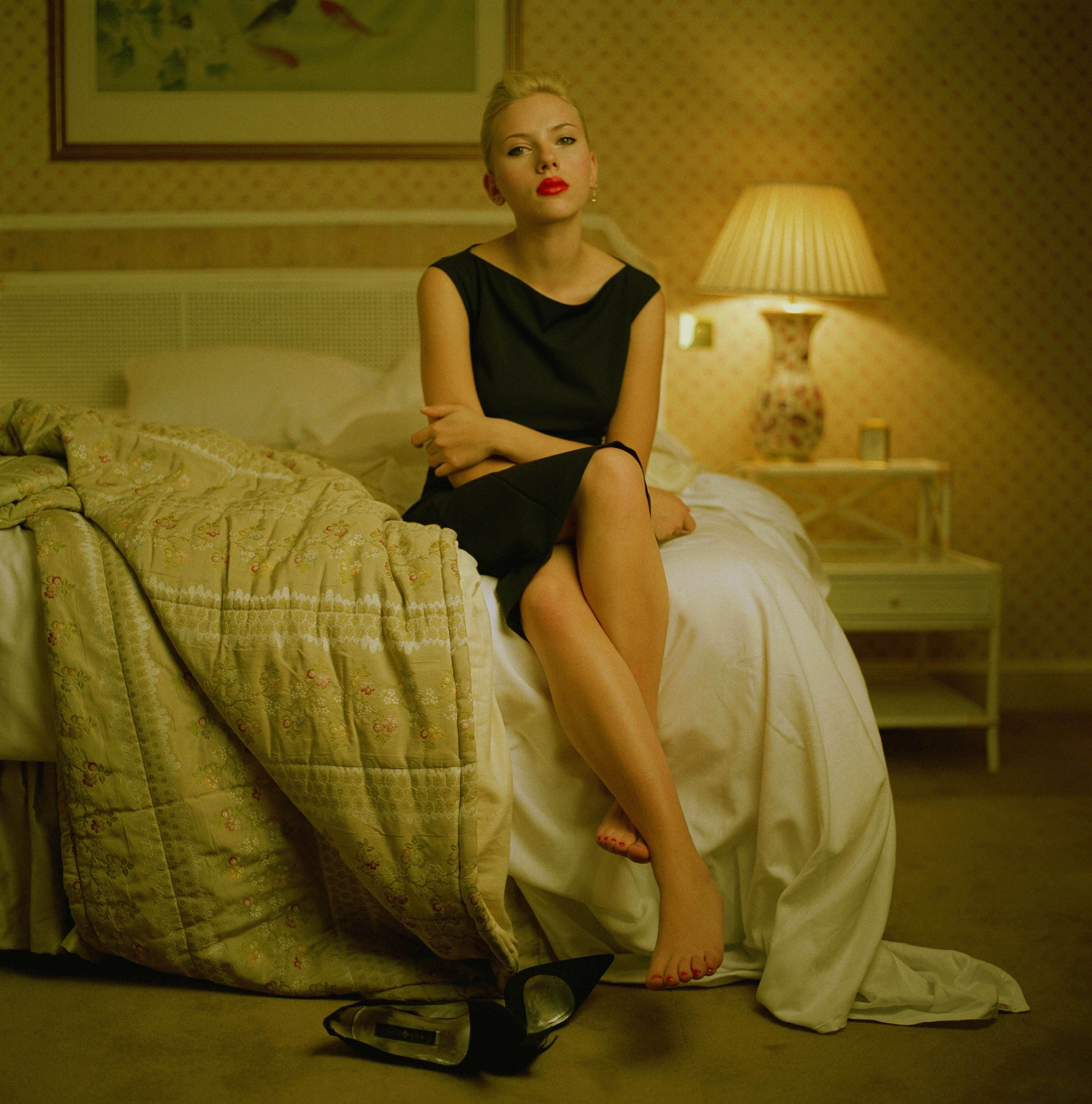 Scarlett Johansson in Jason Bell photoshoot | Celebrity Feet
